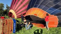 Passagiers mogen weer meevaren in de luchtballon (Foto: Erik Peeters)