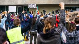 Vorige week zaterdag was er een demonstratie in Eindhoven (foto: SQ Vision Mediaprodukties).