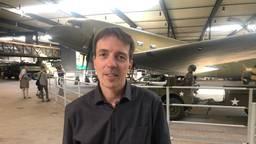 Directeur Erik van den Dungen van het Oorlogsmuseum Overloon (foto: Tonnie Vossen)