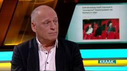 Directeur Jan Wouda van Theater Markant in Uden.