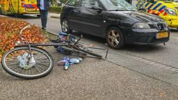 Vrouw en kind op fiets aangereden in Waalre