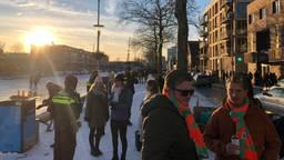 Zaterdag was het druk bij de Piushaven in Tilburg (foto: Omroep Brabant).