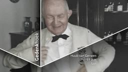 Vader en opa Huub van Gerwen.