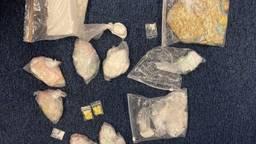 Een deel van de drugs (foto: politie).