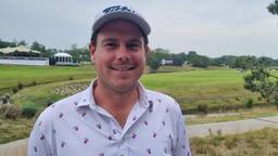 Golfer Lars van Meijel op Dutch Open in Cromvoirt
