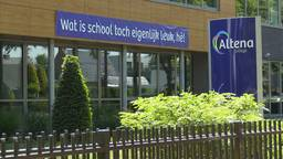 Diploma-uitreiking op het Altena College wordt een drive-in op het schoolplein.