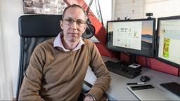 Natuurkundedocent Martijn Leensen.