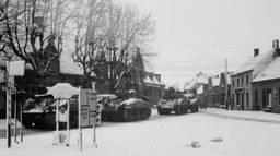 De Markt in Asten in 1944.