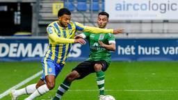 RKC speelde gelijk tegen PEC Zwolle
