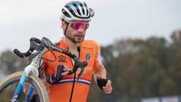 David van der Poel tijdens het EK veldrijden (foto: OrangePictures).