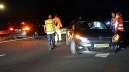 Puinhoop op A2 bij Maarheeze na ongelukken