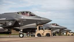 F-35 toestellen oefen op Volkel
