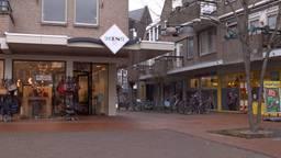 Het is erg rustig in het centrum van Veghel. (Foto: Omroep Brabant)