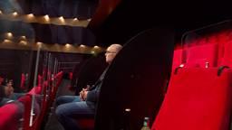 Theater Markant in Uden experimenteert met schermen in de zaal.
