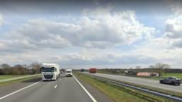 De A67 bij Liessel (afbeelding: Google Streetview).