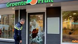 Inbrekers nemen 5 kwartier de tijd om kluis te stelen in groentewinkel Helvoirt