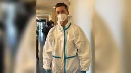 Rick Hoogerbrug is een van de vele ziekenhuismedewerkers die ziek thuiszitten.