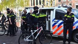 De politie greep uiteindelijk toch in en arresteerde iemand. Foto: Perry Roovers/SQ Vision.