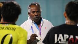 Aikman aan het werk als bondscoach van Japan (foto: privé)