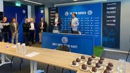 Bubbels en Bossche bollen bij FC Den Bosch (foto: Ilse Schoenmakers).