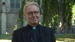 Bisschop Gerard de Korte voor de Sint Jan