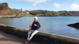 Rianne moet in lockdown in Ierland (foto: Rianne Hendriks)
