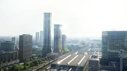 Zo moet de hoogste woontoren District-E er uit gaan zien (foto: gemeente Eindhoven).
