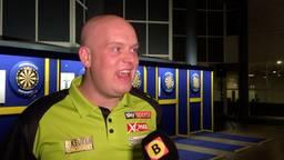 Michael van Gerwen. (Archieffoto: Omroep Brabant)