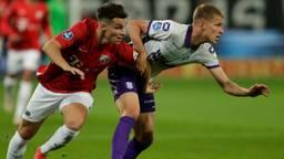 Dario van den Buijs was tevreden met het punt tegen Utrecht