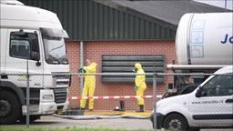 Het bedrijf in Moergestel waar pas de vogelgriep werd vastgesteld.