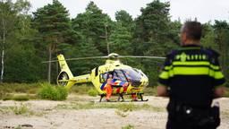 Mountainbiker zwaargewond na val in bossen van Dorst
