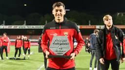 Jay Idzes promoveert met Go Ahead Eagles naar de Eredivisie (foto: OrangePictures).