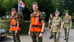 Militairen van vliegbasis Woendrecht lopen volgende week naar Nijmegen voor een goed doel. (Foto: Erik Peeters)