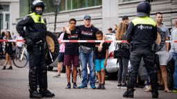 In Den Haag was het zondag onrustig (foto:ANP).
