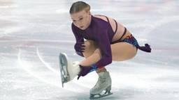 Lindsay van Zundert op het WK kunstschaatsen