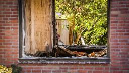 Het getroffen huis (foto: Sem van Rijssel / SQ Vision).