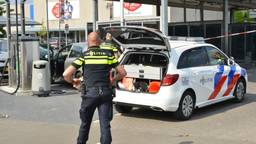 De verdachte werd ter plekke aangehouden. (Foto: Perry Roovers / SQ Vision)