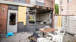 Het huis werd compleet verwoest (foto: Sem van Rijssel/SQ Vision).