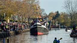 De intocht van de Sint in Tilburg vorig jaar (foto: Gijs Franken)
