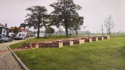 Gedonder in Geertruidenberg over het weer zichtbaar maken van middeleeuwse kasteelmuur.
