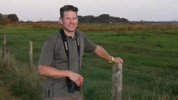 Jochem Sloothaak, weidevogelkenner van Brabants Landschap.