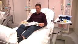 Frank van den Boomen in het Catharina Ziekenhuis