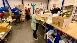 Het team van Nora Werkt aan het werk (foto: Omroep Brabant).