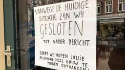 De horeca moest op 15 maart plotseling op slot. Foto: Joris van Duin.
