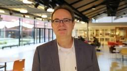 Rector Ben van den Anker van het Maurick College (foto: Collin Beijk)