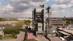 De Asfaltcentrale aan de Veemarktkade in Den Bosch.