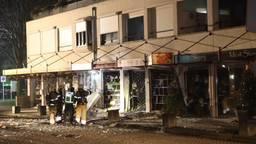 De beschadigde supermarkt in Heeswijk-Dinther (foto: Sander van Gils/SQ Vision Mediaprodukties).