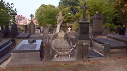 Het graf van Marietje Kessels in Tilburg.