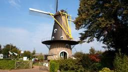 De Kerkhovense Molen in Oisterwijk (archieffoto: Joop van der Kaa).