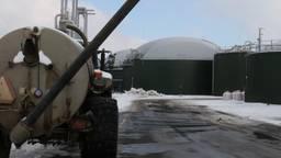 In Sterksel staat een grote mestvergister die groen gas levert aan het gasnet.